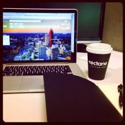 Octane Coffee in Lobby